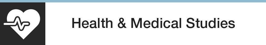 Health & Medical Studies